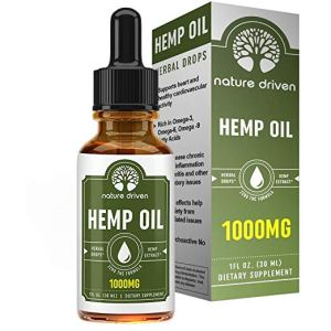 Nature Driven Hemp Oil for Pain Relief