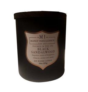 manly indulgence candle