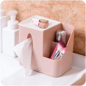Elevin Tissue Box Organizer Amazon