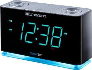 Emerson smart alarm clock