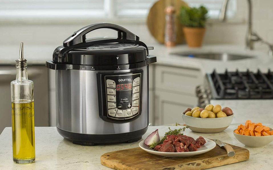 gourmia smart pot pressure cooker