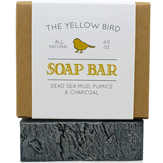 Dead Sea Mud Soap Bar The Yellow Bird