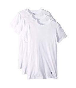 White T-Shirts Ralph Lauren