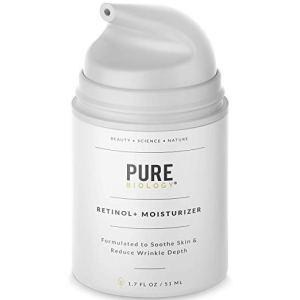 Retinol Cream Face Moisturizer Pure Biology