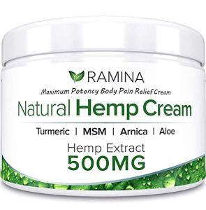 Ramina Natural CBD Extract Pain Relief Cream