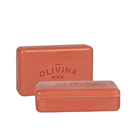 Bourbon Cedar Exfoliating Soap Olivina