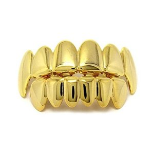 Gold Grill Rapper Jewelry