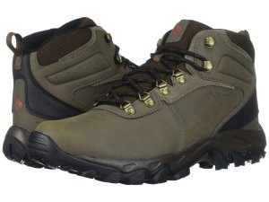 Green Hiking Boots Columbia