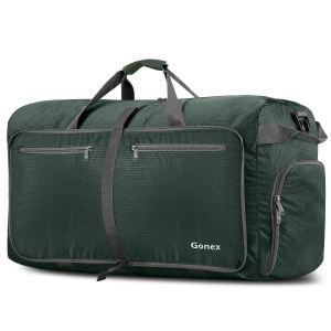 Green Duffle Bag foldable