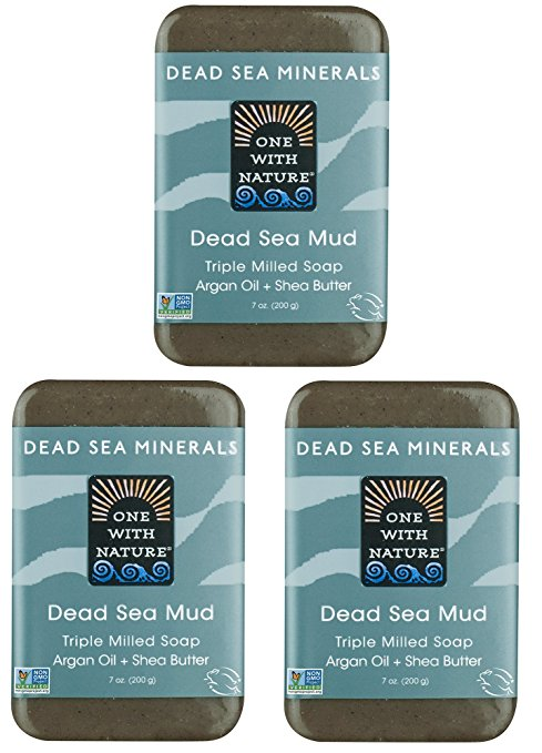 Dead Sea Salt Mud Soap One With Nature