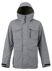 Burton Men's Covert Shell Jacket gray