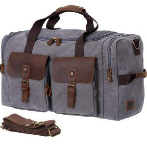 Vintage Duffle Bag Weekender
