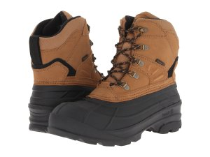 Snow Boots Rubber Leather