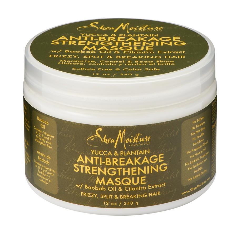 Shea Moisture Organic Yucca & Plantain Anti-Breakage Masque