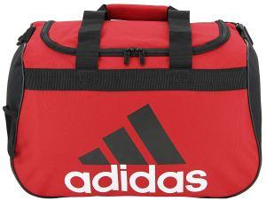 Red Duffel Bag Adidas