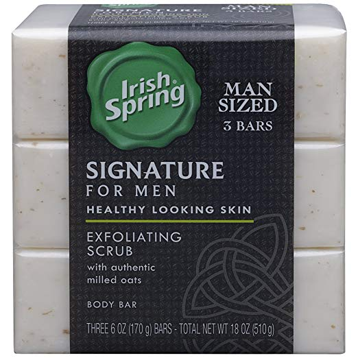 Exfoliating Bar Soap Irish Spring