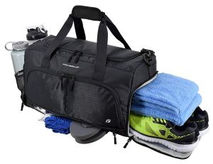 Gym Bag Shoe Pocket