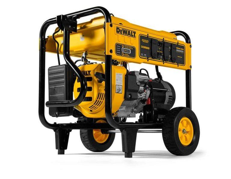 DEWALT 8,000-Watt Gasoline Powered Electric Start Portable Generator