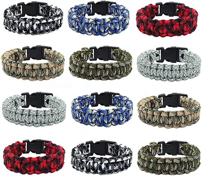 Frog Sac paracord bracelets