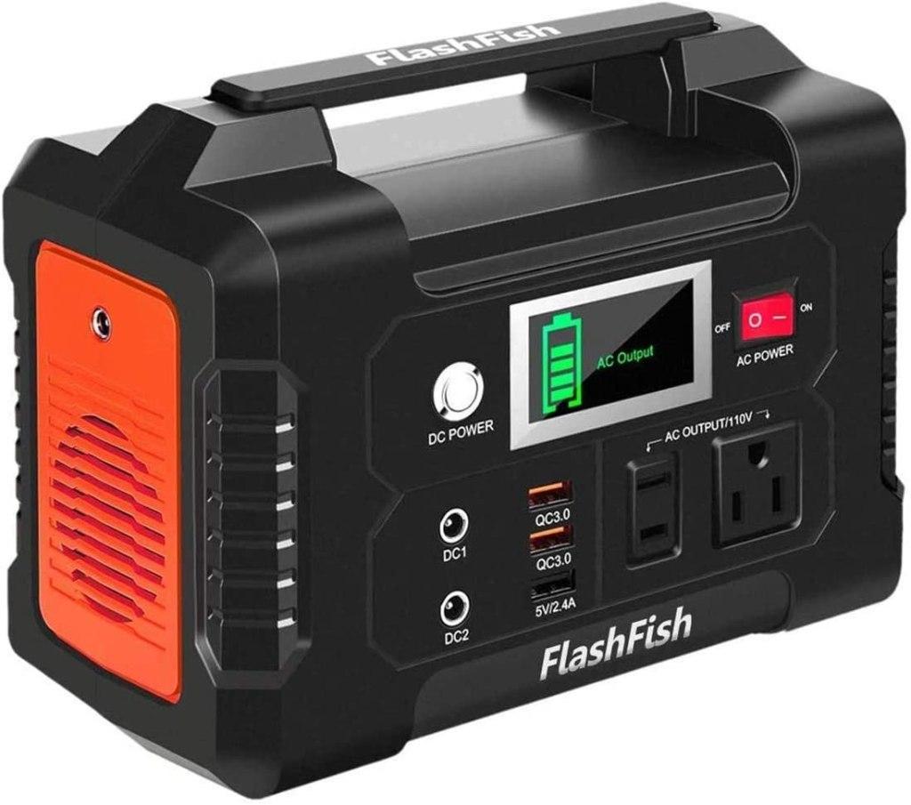 FlashFish 40800mAh Solar Generator