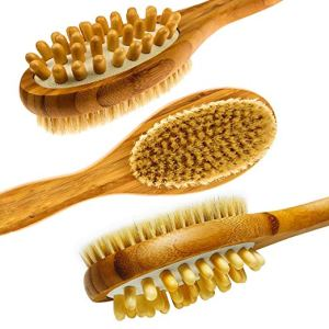 best loofah sponge long brush