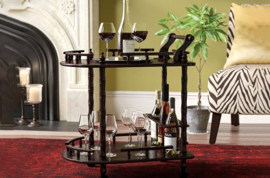 Bar Carts to Jazz Up Your Dinner Parties Just in Time for the Holidays