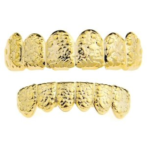 Rapper Teeth Jewelry Grillz