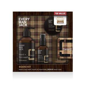 Every Man Jack Beard Kit, beard grooming kit