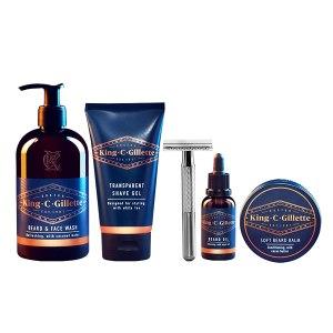 King C. Gillette Complete Men's Beard Care Gift Kit, best beard grooming kit