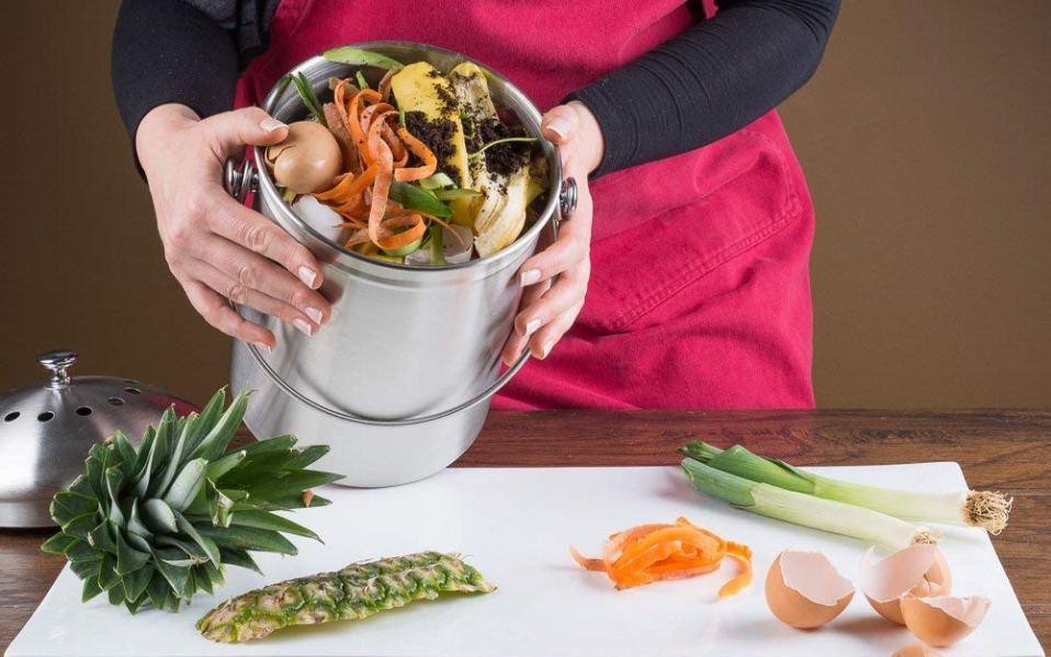 kitchen compost bins amazon