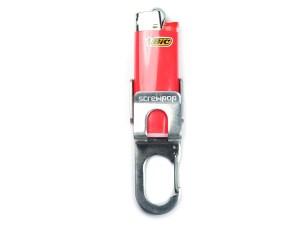 Screwpop Bic Mini Lighter Keychain Multi Tool