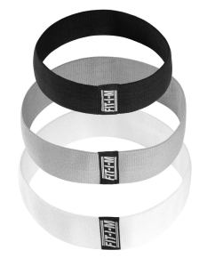 black and grey booty bands