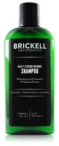 Brickell Men's Daily Strengthening Shampoo for Men