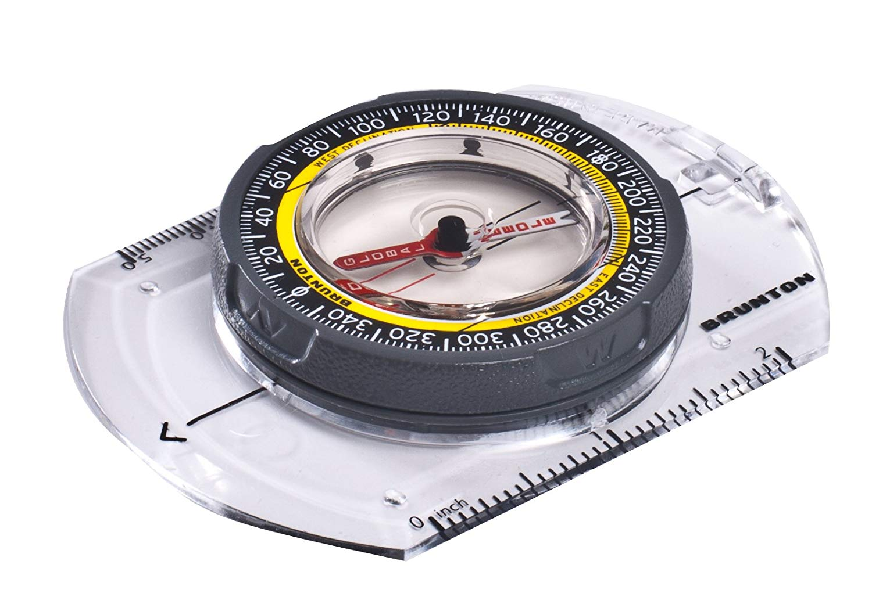 Brunton Tru Arc compass made in usa