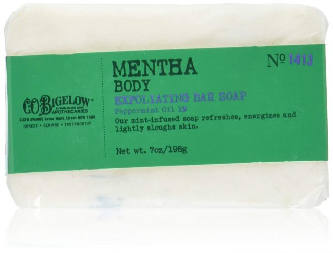 C.O. Bigelow Mentha Exfoliating Bar Soap