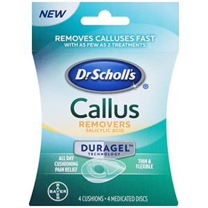 how to get rid of calluses dr. scholls