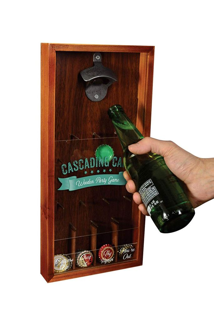 Cascading-Bottle-Caps-Game-with-Built-In-Bottle-Opener-Amazon