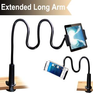 Cellphone & Tablet 2 in 1 Stand Holder Clip