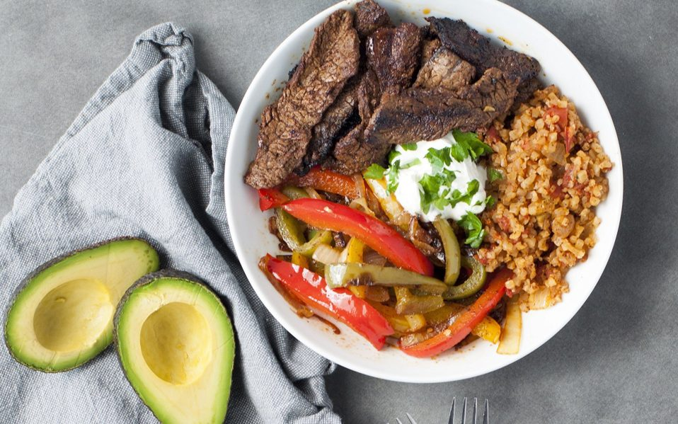 craveable keto diet book mexican fajitas