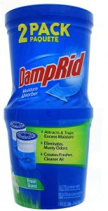 how to get rid of mold damprid absorber