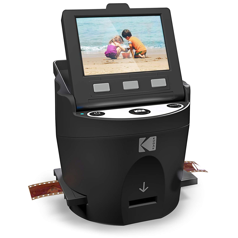 Desktop digital slide film scanner kodak