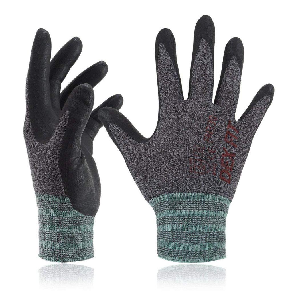 DEX FIT Lightweight Nitrile Work Gloves