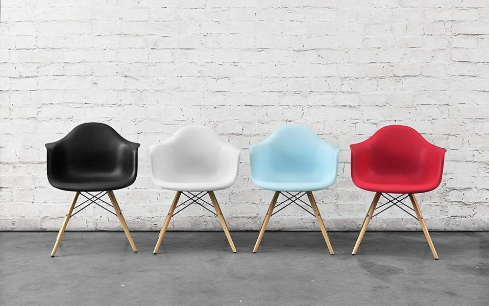DHP mid century modern chairs