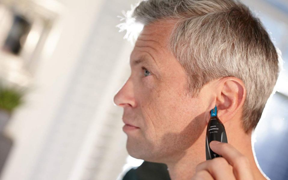 ear hair and nose hair trimmer
