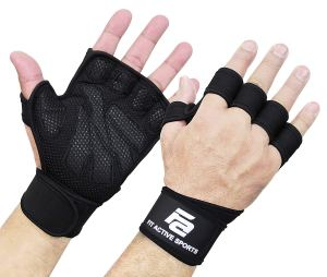 Fit-Active-Sports-Weight-Lifting-Gloves-with-Built-In-Wrist-Wraps-Amazon