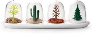 four seasons salt shakers, salt and pepper shakers