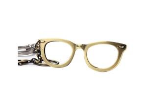 Pixnor Glasses Shape Bottle Opener Keychain