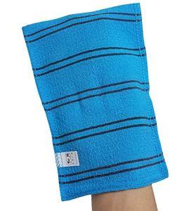 exfoliating gloves best loofah mitts korean beauty