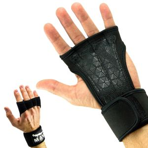 black gloves for lifting
