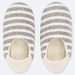 Women Pile Slippers Uniqlo